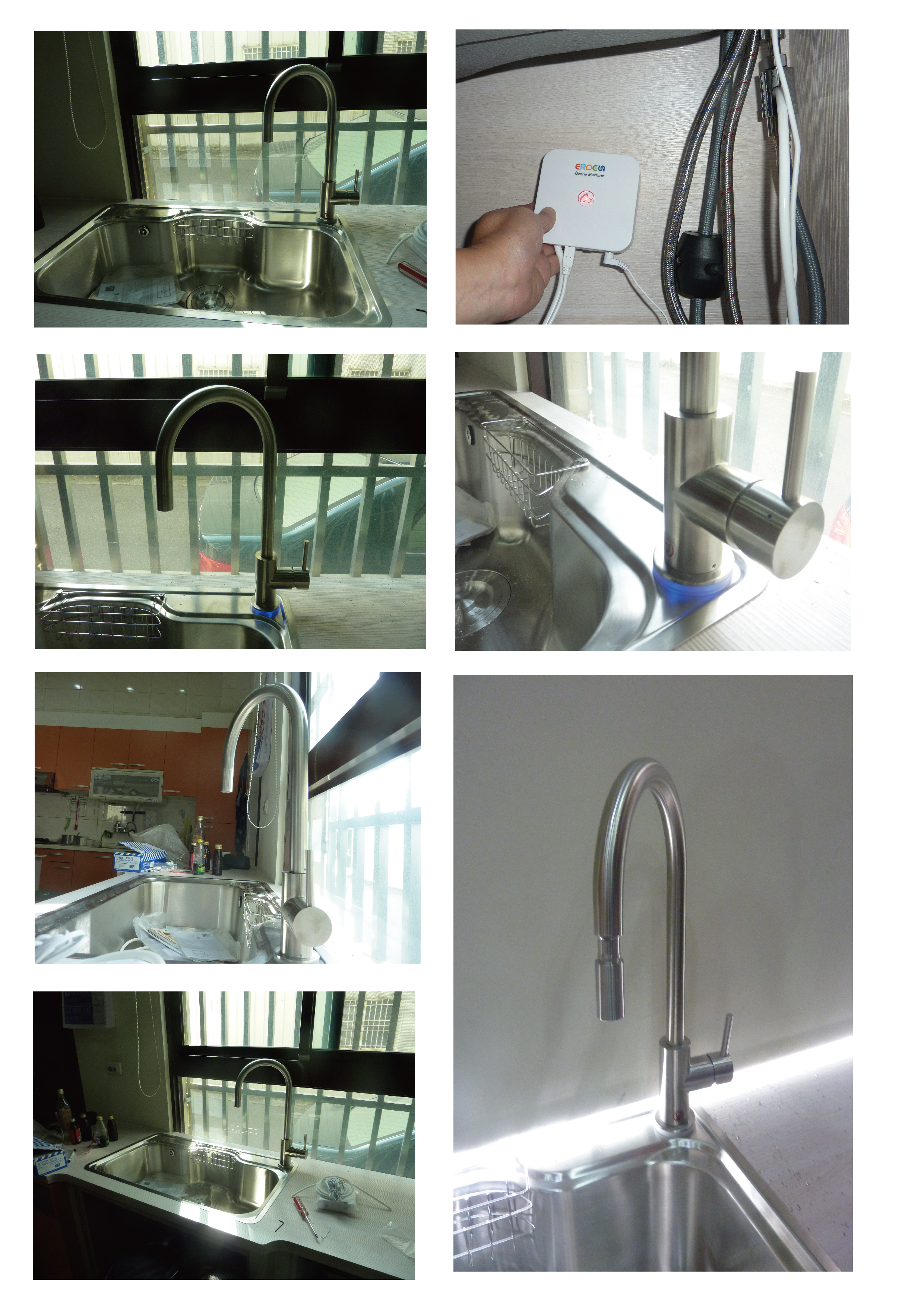 Fengyuan Herr Liu Kuchenarmatur Installation Diy Strongco News Und Events Strongco Company Ltd